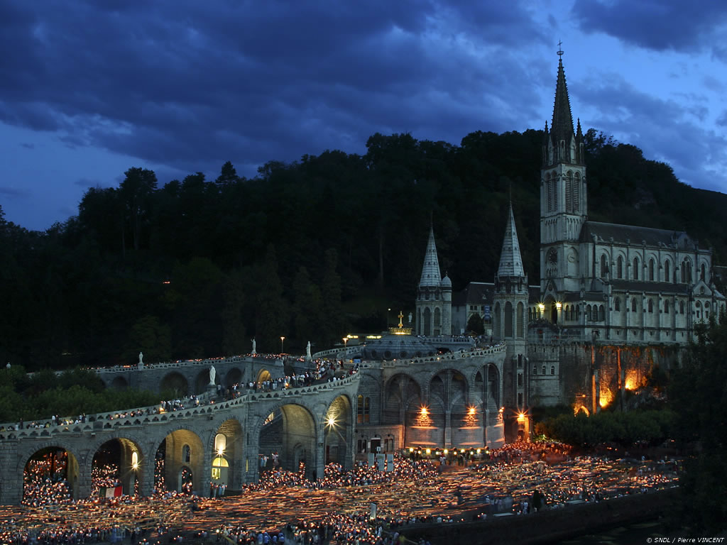 Lourde France  city pictures gallery : Place Your Prayer Petitions Here at the Grotto of Lourdes |