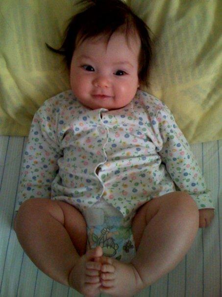 Mick's baby girl