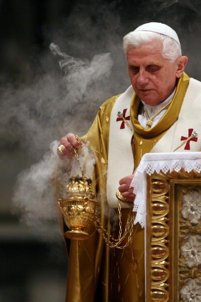 Pope Benedict XVI Celebrates Easter - Easter Vigil
